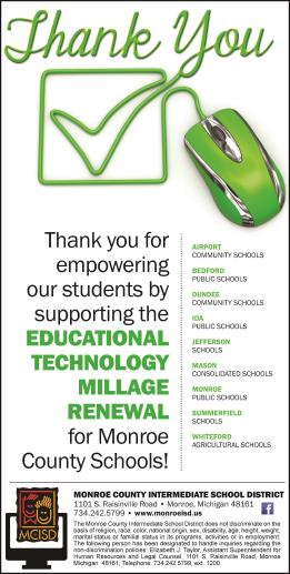Tech Millage Thanks